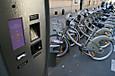 街角のレンタル自転車